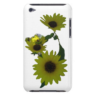 Cutout Wild Sunflowers iPod Touch Cover