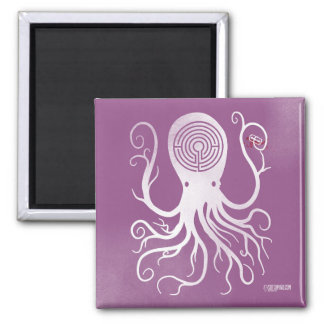 cuts pink magnet scary octopus