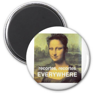 cuts that even affect to Pretty the smooth one 2 Inch Round Magnet