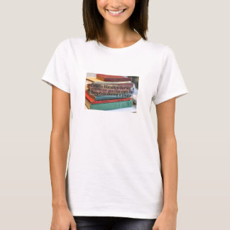 Cuts to libraries exibit a lack of logic T-Shirt