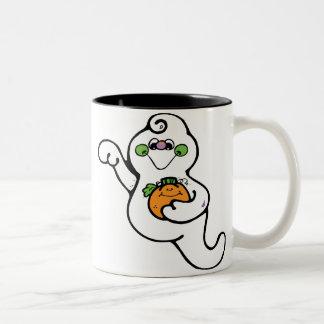 Cutsie-Ghost Two-Tone Coffee Mug
