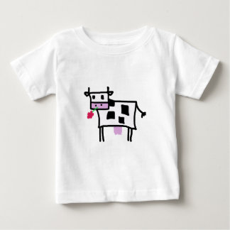 Cutsie Square Cow Baby T-Shirt