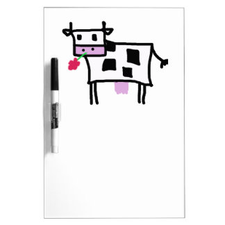Cutsie Square Cow Pizarras