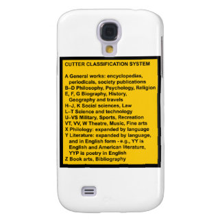 Cutter Expansive Classification Galaxy S4 Cover