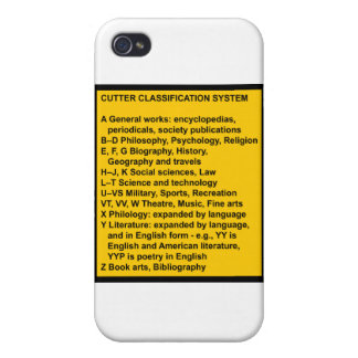 Cutter Expansive Classification iPhone 4 Covers