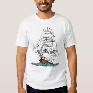 Cutter Sailing Ship T Shirt