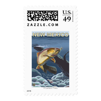Cutthroat Trout FishingNew Mexico Postage