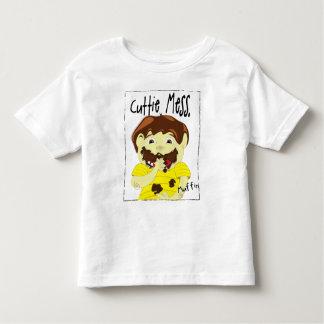 Cuttie Mess Little Snacker Muffin Toddler T-shirt