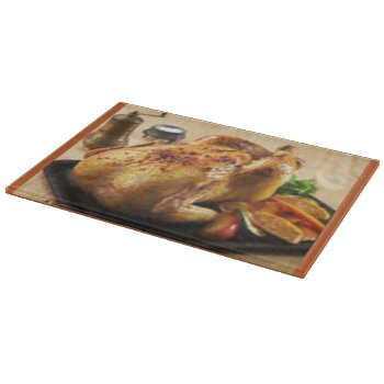 Cutting Board- Glass- Customized -use For Chicken Cutting Board by CREATIVEforHOME at Zazzle