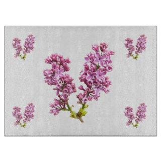 Cutting Board - Lilac Blossoms