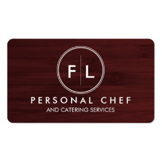 Cutting Board Personal Chef/Catering Business Card