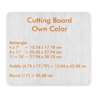Cutting Board uni White ~ Own Color