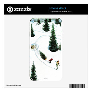 Cutting Down the Tree iPhone 4 Skin