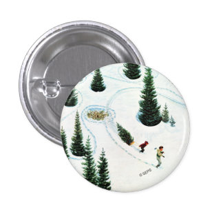 Cutting Down the Tree Pinback Button