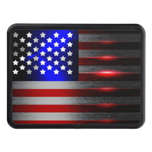 1.25 Graphics and More Rustic American USA Flag Distressed Oval Tow Hitch Cover Trailer Plug Insert 1 1//4 inch
