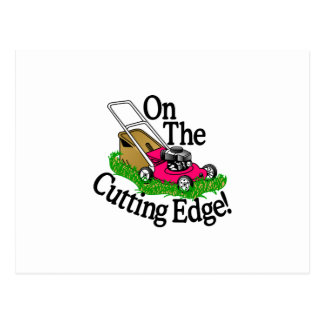 Cutting Edge Postcard
