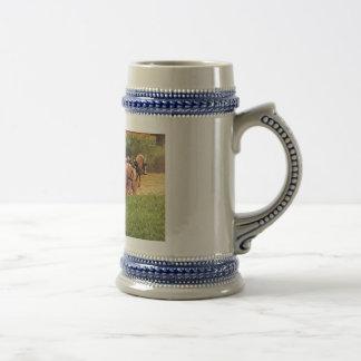Cutting Hay Coffee Mug
