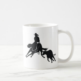 Cutting Horse and cow Mugs