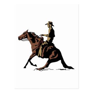 CUTTING HORSE POST CARD