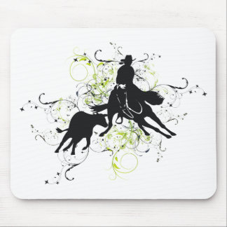 Cutting Horses Mouse Pad