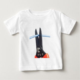 Cutting network cable baby T-Shirt