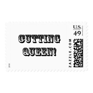 Cutting Queen Postage