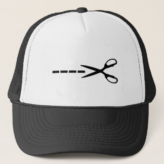 Cutting Scissors Trucker Hat