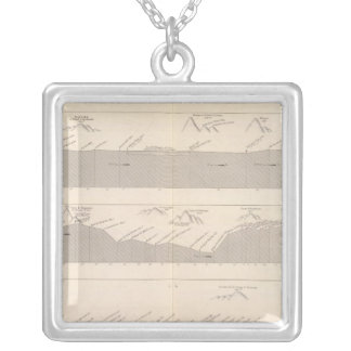 Cutting the road to Buenos Aires to Lima Personalized Necklace