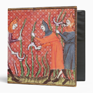 Cutting Trees, from Ovide Moralise 3 Ring Binder