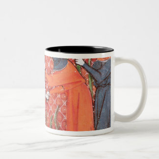 Cutting Trees, from Ovide Moralise Two-Tone Coffee Mug