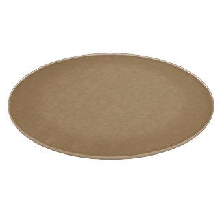 Cuttingboard gold round/rectangle cutting board