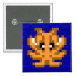 Cuttle Scuttle Camouflage Cuttlefish Badge Button