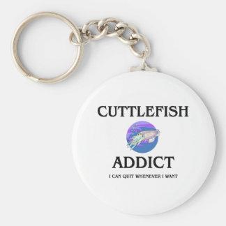 Cuttlefish Addict Keychain