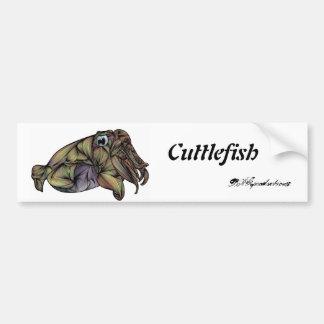 Cuttlefish Bumper Sticker