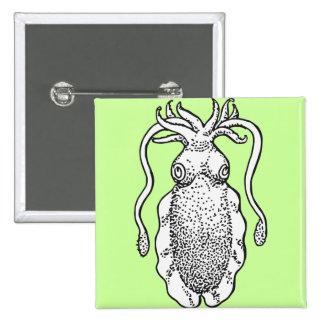 Cuttlefish Pinback Buttons