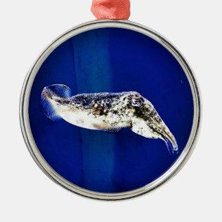 Cuttlefish Metal Ornament