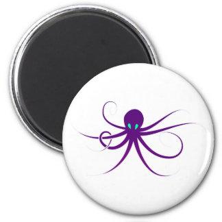 Cuttlefish Oktopus Krake octopus kraken 2 Inch Round Magnet