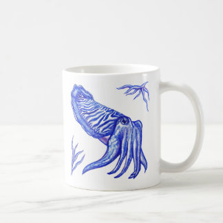 Cuttlefish Original Artwork Mug