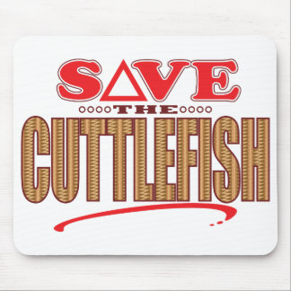 Cuttlefish Save Mouse Pad