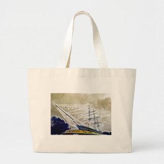 Cutty Sark Greenwich Fractals Tote Bag