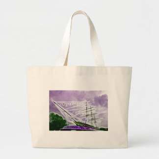 Cutty Sark Greenwich Fractals Tote Bags