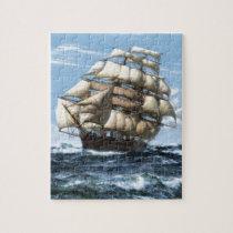 Cutty Sark vintage ships Jigsaw Puzzle