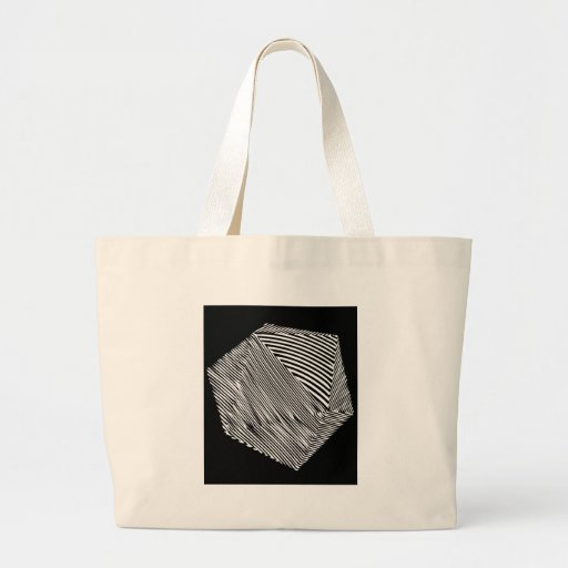 Cuuuube Canvas Bag