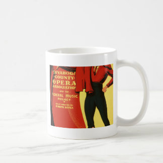 Cuyahoga County Opera presents Carmen Coffee Mug