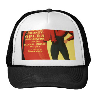 Cuyahoga County Opera presents Carmen Mesh Hat