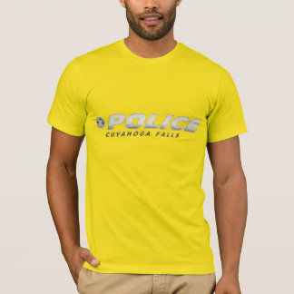 Cuyahoga Falls Police Department Shirt. T-Shirt