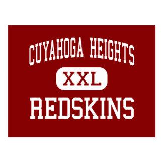Cuyahoga Heights - Redskins - Cuyahoga Heights Postcard