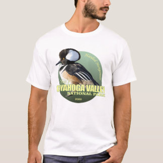 Cuyahoga NP (Hooded Merganser) WT T-Shirt