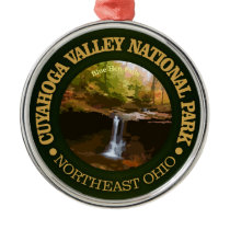 Cuyahoga Valley National Park Metal Ornament