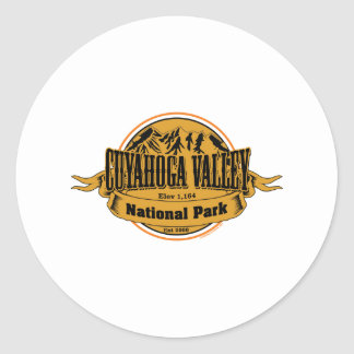 Cuyahoga Valley National Park, Ohio Classic Round Sticker